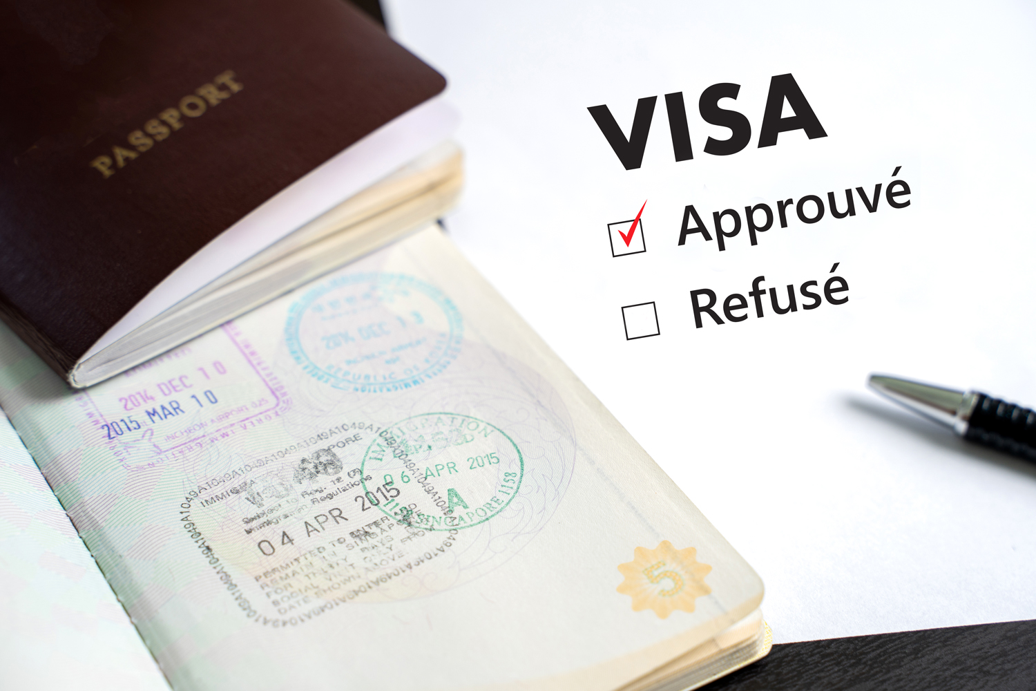 procedures required to obtain the various government authorizations in Canada and legal documents required to obtain a work visa